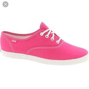 Keds Pink Original Canvas Shoes 8